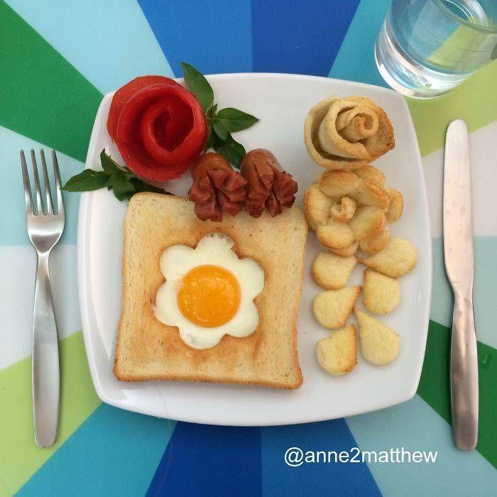 Ella es Anne Widya tiene cuatro hijos y crea para ellos algunos de los desayunos más divertidos y creativos del mundo. Se despierta temprano para poder hacer estos platillos. Si quieres ver más de las comidas tan geniales que crea te invitamos a vi