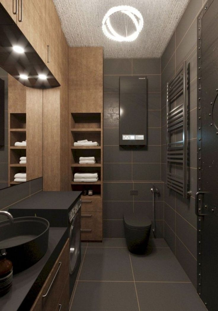 Más de 95 ideas increíbles para la remodelación de baños pequeños #bathroomideas #bathroomdesign #bathroo …