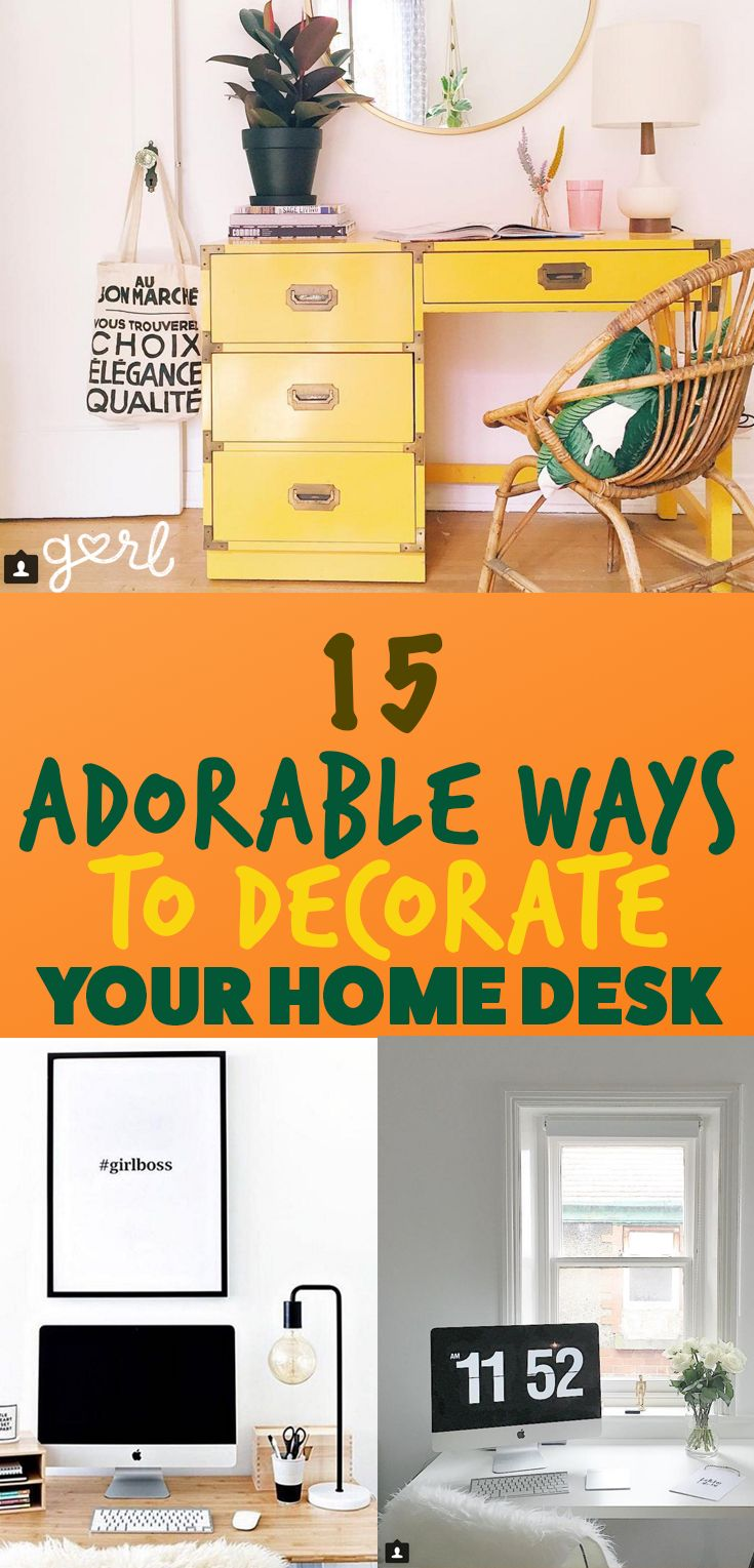 Having a beautifully decorated desk is more important than you think. Sitting down at an organized, neat, and aesthetically pleasing desk can actually motivate you to get your sh*t together and get things done. If your desk is haphazardly thrown together, messy, and uninviting, you're going to be less likely to actually sit down and grind it out. When you're a student, you spend a lot of time working at your desk (and on your bed, and in your friend's bed, and in the library).