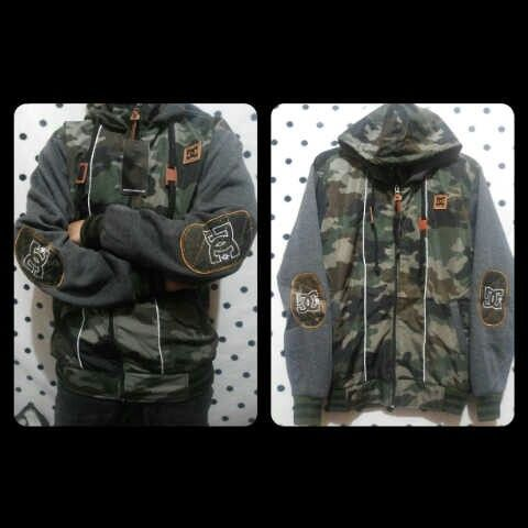Dc army bahan pleece kombi all size fit L 180rb call 523D5F13