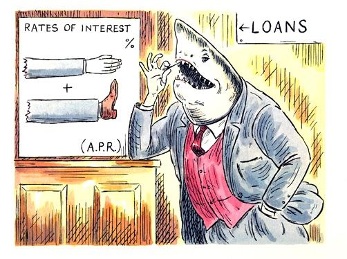 Mark Frankland: IT'S TIME FOR COMMUNITIES TO TAKE THE LOAN SHARKS DOWN. AND IT IS SURPRISINGLY EASY TO DO.