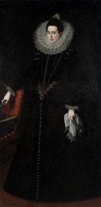 Catalina de la Cerda, Duchess of Lerma, 1602, by Juan Pantoja de la Cruz