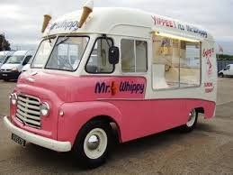 We loved Mr Whippy in the 1970s.