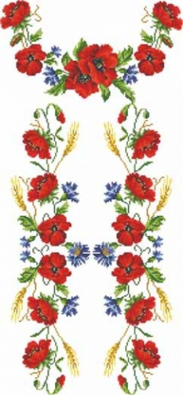 Картинки по запросу вишивка хрестиком безкоштовні схеми квітів ... 49a3b56bd3db9
