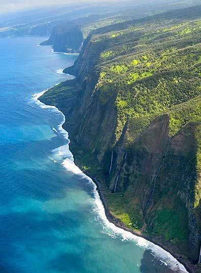Kalaupapa Cliffs, Hawaii