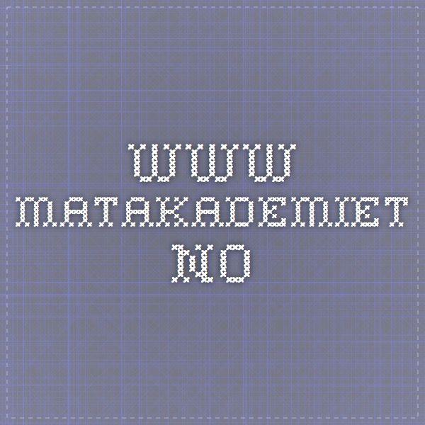 www.matakademiet.no