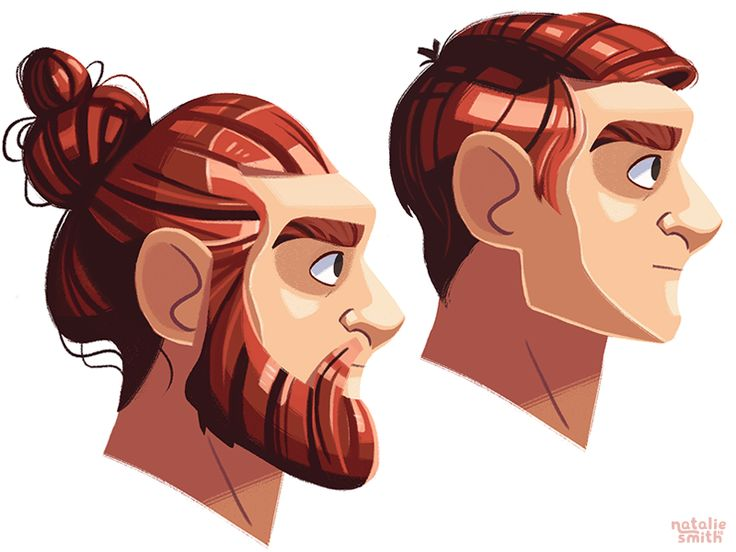 Hair Practise by Natalie Smith #Design Popular #Dribbble #shots