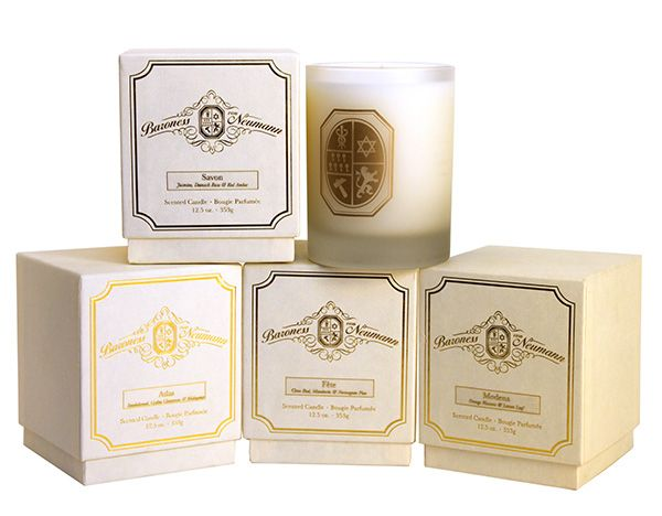 Baroness von Neumann candles smell heavenly - they're organic and clean-burningVon Neumann, Baroness Von, Packaging, Cleaning Burning Candles, Candles Collection, Neumann Candles, Candles Smells, Luxist, Luxury Gadgets
