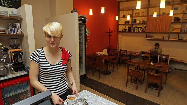 Mléčný bar Kumbál je dobrým místem pro snídani nebo anglosaský oběd