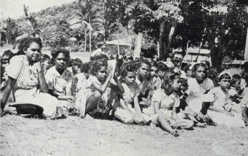 1954 Aboriginal girls of the mission