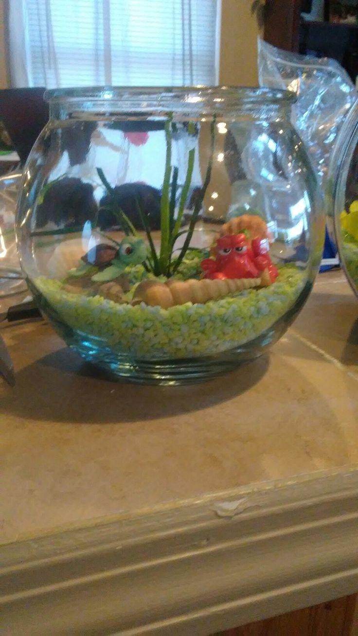 best 25 fish bowl centerpieces ideas on pinterest bowl centerpieces fish bowl decorations. Black Bedroom Furniture Sets. Home Design Ideas