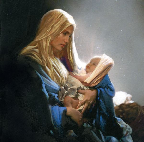 Madonna and Child from   The Children's Society