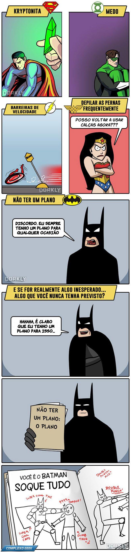 Até os Deuses temem alguma coisa... Todo mundo sabe que a única fraqueza do Batman se chama: JOEL SCHUMACHER