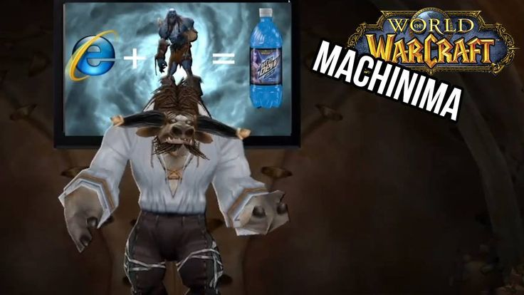 World of Warcraft Machinima - Game ON! Real Gamer's song