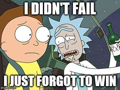 Rick and Morty wisdom