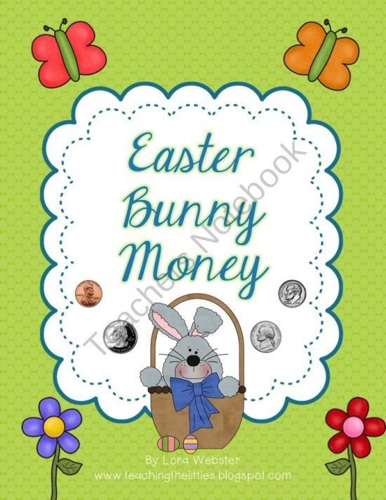 40 best counting to 100 images on pinterest kindergarten math easter bunny money product from mrs websters classroom on teachersnotebook earn more moneyvisa gift cardgift negle Images