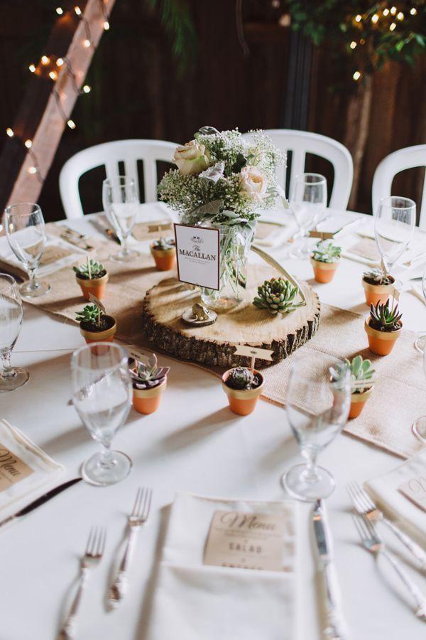 Jeitos de usar suculentas no casamento | Ideias para Casar