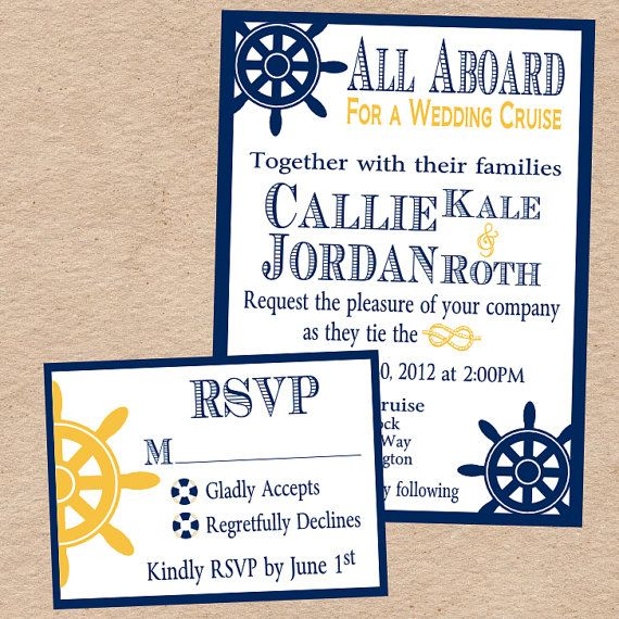 34 best Cruise Wedding Invitation Ideas images by Cruise Wedding