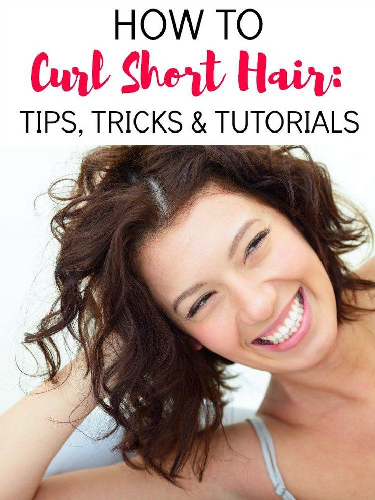 How To Curl Short Hair: Tips, Tricks And Tutorials (With