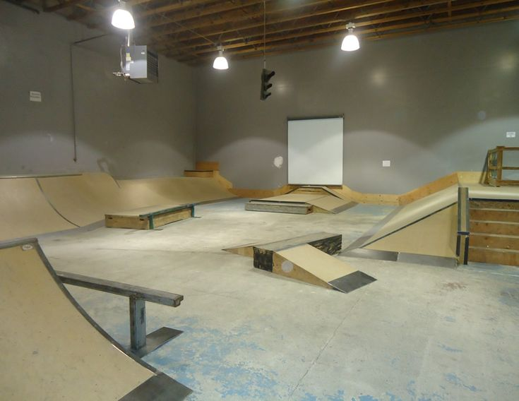 Ripzu indoor skate park in Vancouver, Wash.