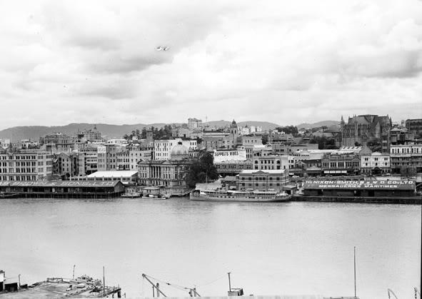 Brisbane Petrie Bight 1950