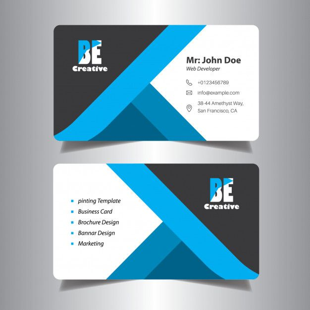 Visiting Card Design For Office Visiting Cards Visiting Card Design Business Cards Creative