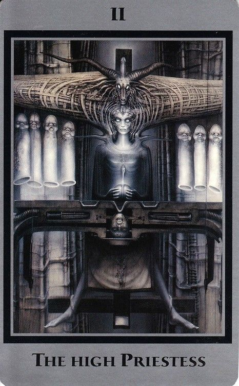 Giger Tarot Cards --> http://All-About-Tarot.com <--