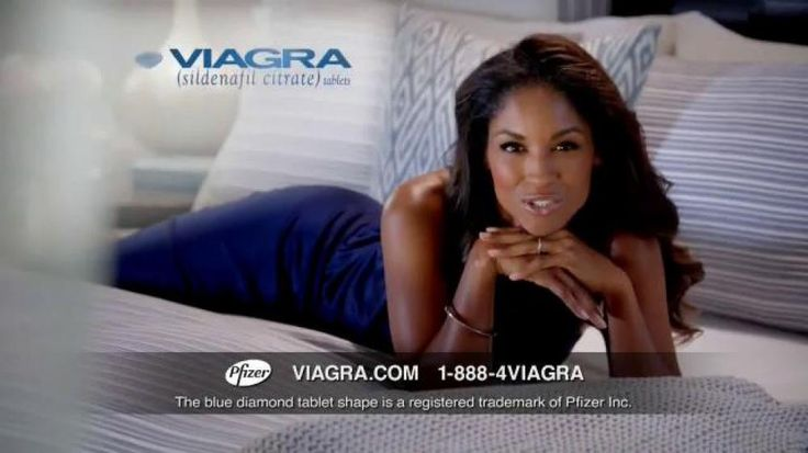 A woman in a blue dress explains that women love snuggling up after date night. If you are a man suffering from erectile dysfunction, try Viagra.