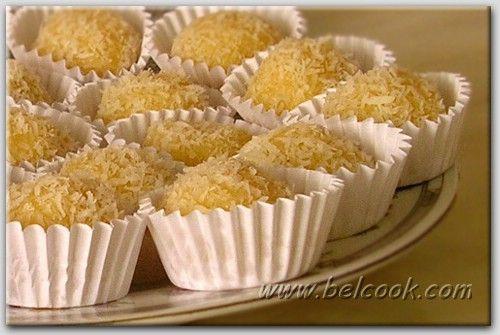 Холодные десерты с кокосовой стружкой
