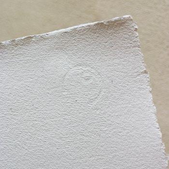 #handmade #paper #watermark   znak wodny na papierze ręcznie czerpanym