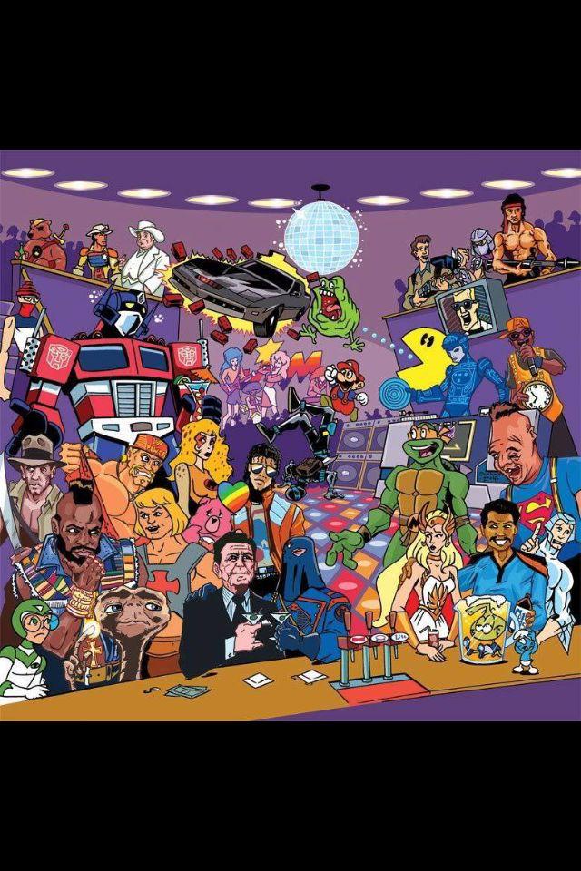 80s Photo 80s cartoons, 80s nostalgia, 90s nickelodeon