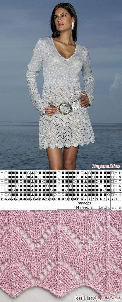 Knit pattern dress ...♥ Deniz ♥.