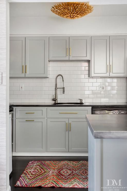 Kitchen cabinet paint color is benjamin moore coventry gray very versatile color with a warm - Benjamin moore colors for kitchen ...