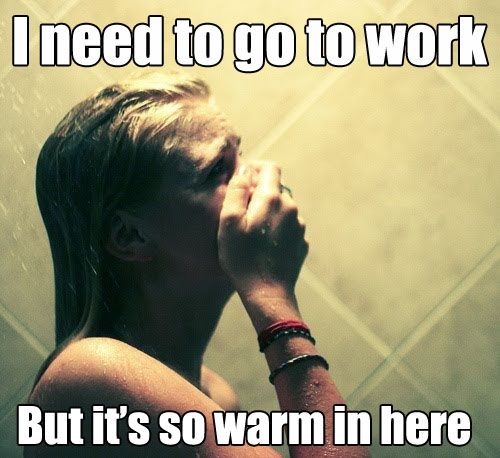 My morning every day during winter!