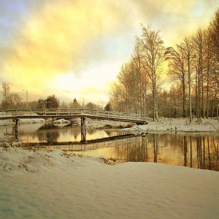 Finnish landscapes / sunset 2015
