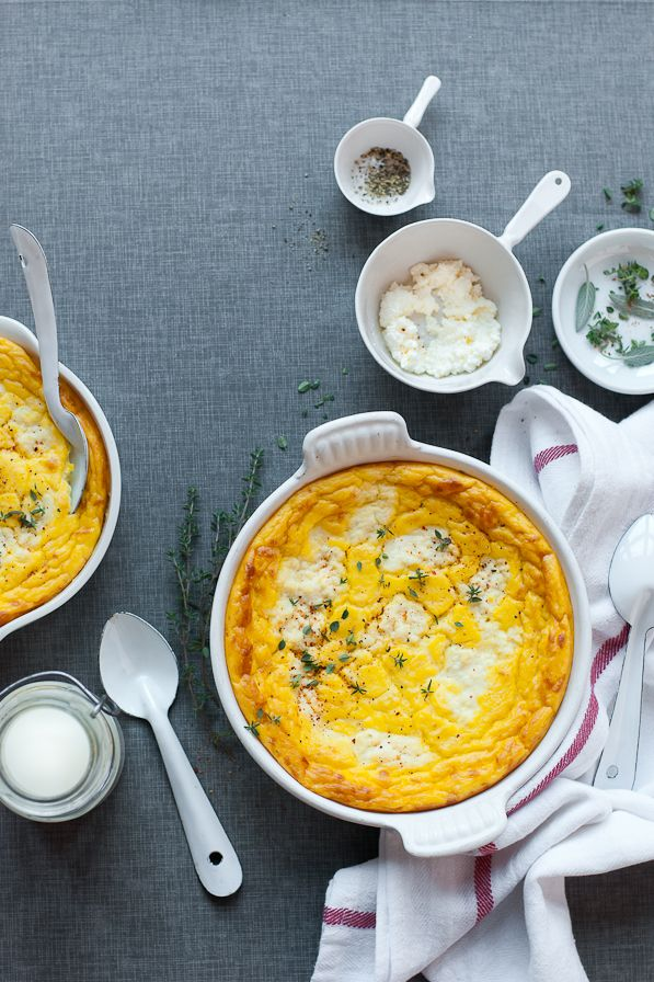 Sweet Potato, Parsnip & Celeriac Pudding - Great Side Dish for Thanksgiving or for any autumn meal!