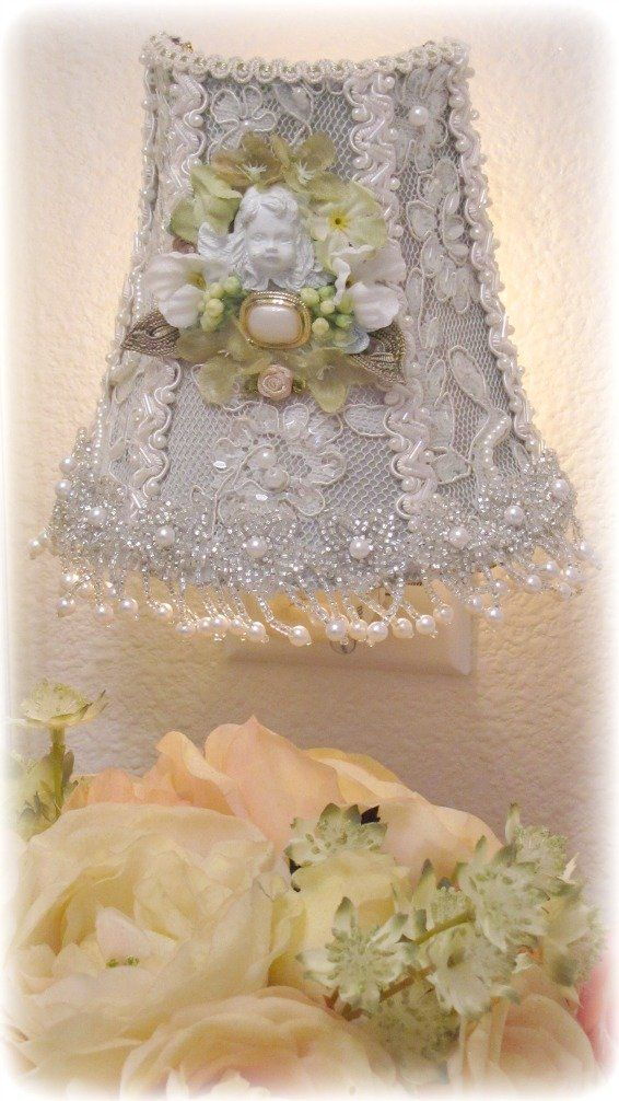 Victorian Night Light Shades | Romantic Victorian Home Collection > Night Lights