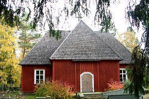 Revonlahden kirkko - Raahen Matkailuoppaat ry   Ota Opas - koet enemmän