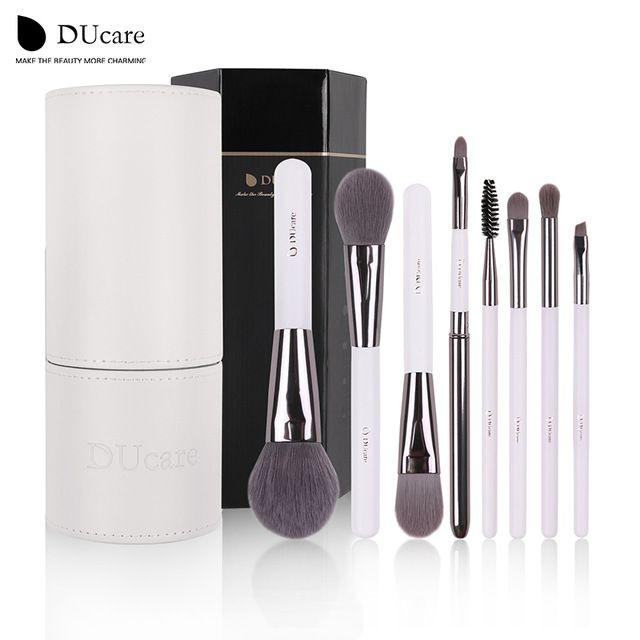 DUcare Макияж Кисти Professional 8 ШТ. Фонд Тени Для Век Макияж Кисти наборы макияж kwasten