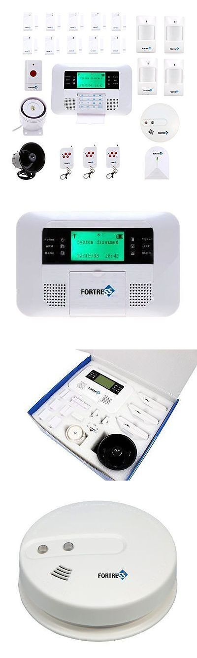 Other Home Surveillance: Fortress Security Gsm-F Wireless Cellular Gsm Home Security Alarm System New BUY IT NOW ONLY: $399.93
