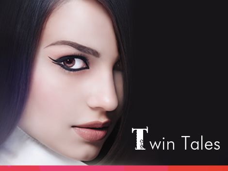 Try a new look today with simply two strokes of Chambor's Stay-On Black Waterproof Eyeliner Pencil! When will you try the 'Twin Tales' look?
