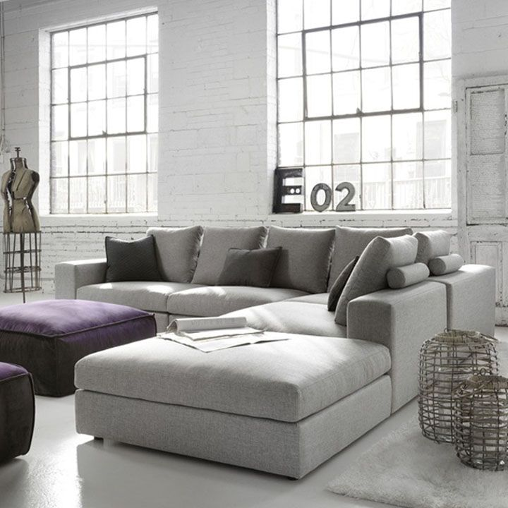 The Other Room - grey sectional for living room