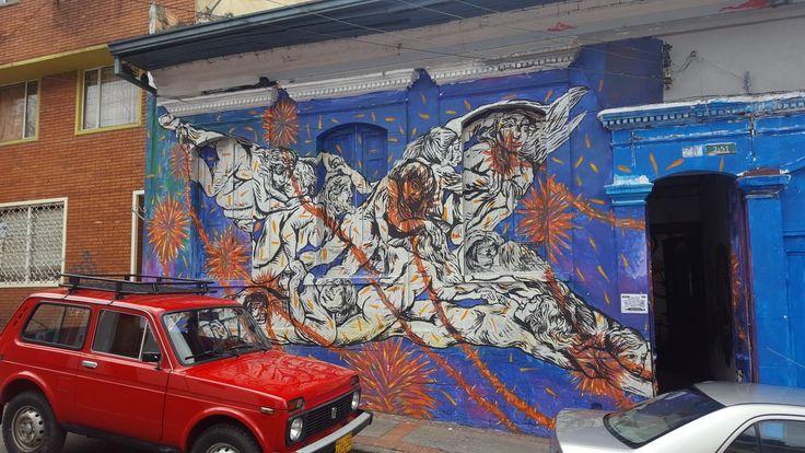 #bogota #colombia #art #artwork #graffiti #graffitiigers #graffitiporn #instagood #instagraff #instagraffiti #instagrafite #mural #pasteup #photooftheday #sprayart #stencil #stencilart #stickerart #street #streetart #streetarteverywhere #streetartistry #streetphotography #urban #urbanart #urbanwalls #wall #wallporn