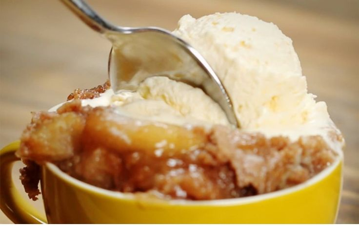 Apple Spice Cake Slow Cooker Tasty