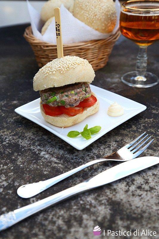 Hamburger di Maiale e Porro