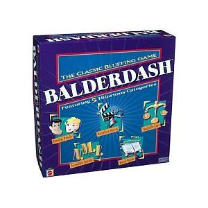 $53.00 Balderdash Game: Amazon.ca: Toys & Games - the version with five categories, not just one
