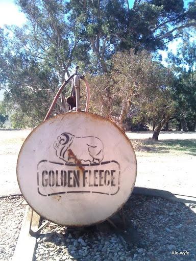 Farmer's fuel pump - the old Australia