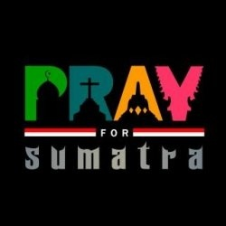 No one knows who pioneered it, the term of 'Pray for Sumatera' worldwide in an instant. By displaying a black ribbon and Eagle emblem, a symbol...