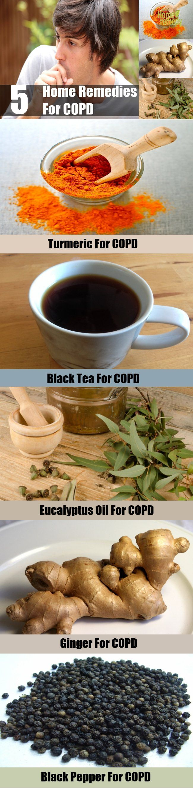 5 Effective Home Remedies For COPD                                                                                                                                                                                 More