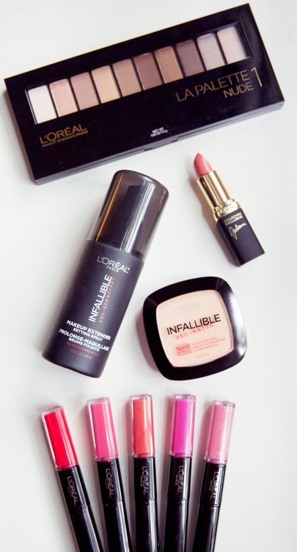 Favorite long wear makeup line. L'Oreal Infallible